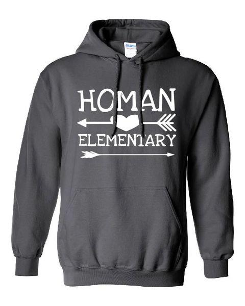 Homan Elementary Arrow Hoodie