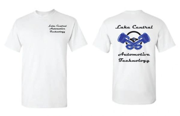 Lake Central Automotive Technology T-shirt