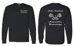 Lake Central Automotive Technology Long Sleeve T-shirt