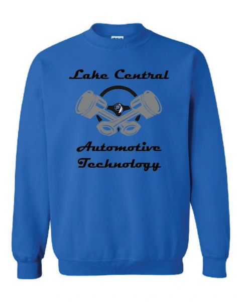 Lake Central Automotive Technology Crewneck Sweatshirt