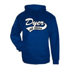 Dyer All-Stars Line Embossed Hoodie