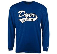 Dyer All-Stars Line Embossed Long Sleeve Tee
