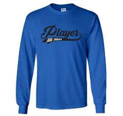 All Star Player Long Sleeves