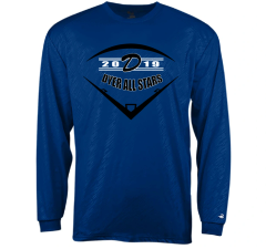 Dyer All Stars Practice Line Embossed Long Sleeve Tee