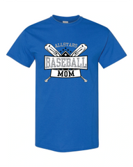 All-Star Baseball Mom T-shirt