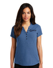 Caribbean Pools Henley - Embroidered