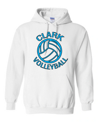 Clark Volleyball Hooded Sweatshirt 2019