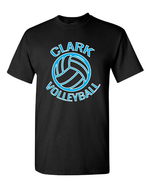Clark Volleyball Cotton T-Shirt 2019