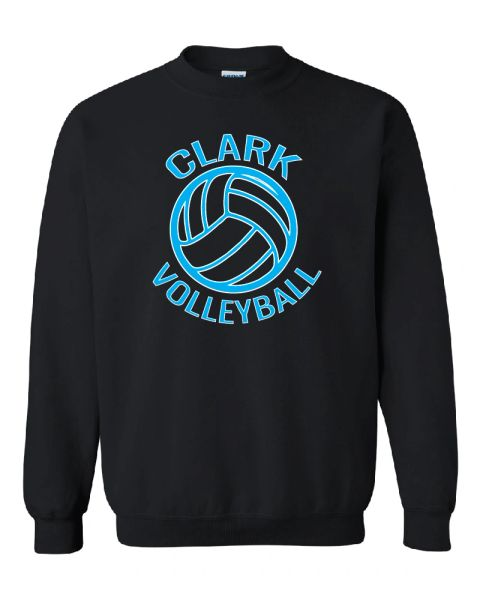 Clark Volleyball 2019 Crewneck Sweatshirt
