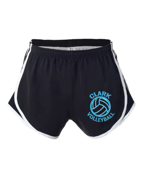 Clark Volleyball Running Shorts