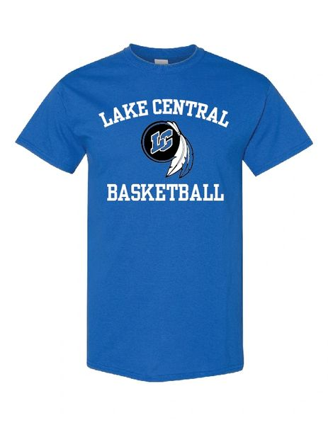 Lake Central Basketball Cotton T-Shirt