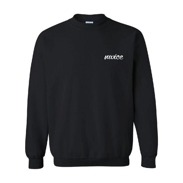 NWICE Cursive Crewneck Sweatshirt