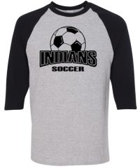 Indians Soccer Three Quarter Shirt