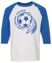 Soccer Dream Catcher Three Quarter Shirt