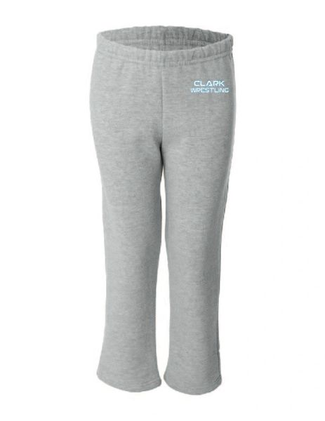 Clark Wrestling Open Bottom Sweat Pants