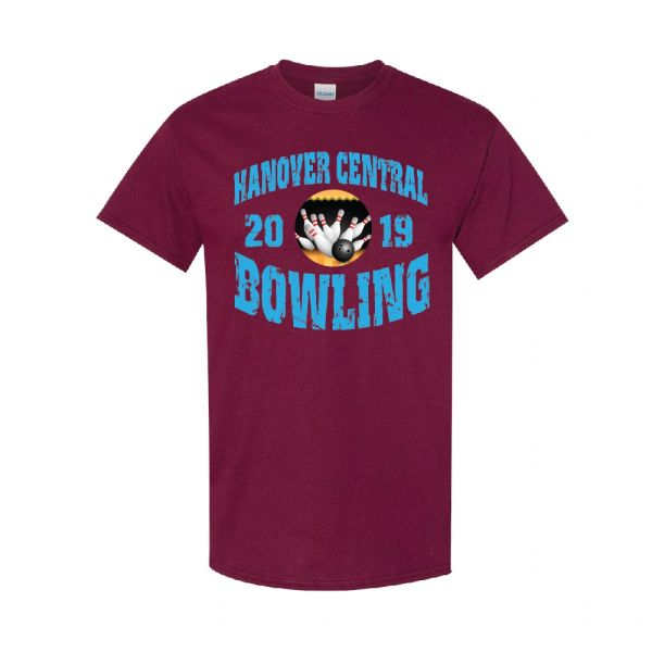 Hanover Central Bowling Distressed T-Shirt