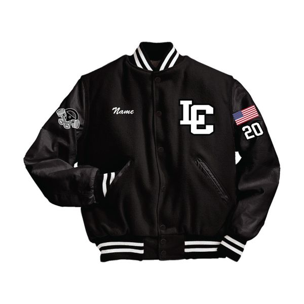 Lake Central Automotive Technology Letterman's Jacket
