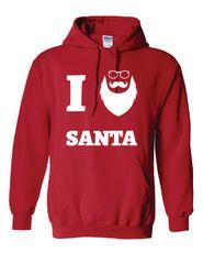 I Love Santa Hoodie
