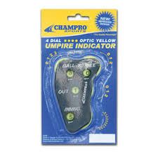 Champro Sports 4 Dial Umpire Indicator