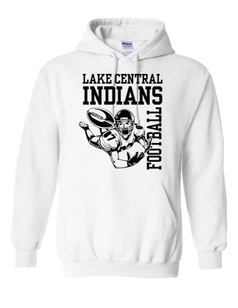 Lake Central Indians Football Hoodie
