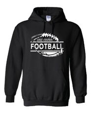 Lake Central Football Distressed Hoodie