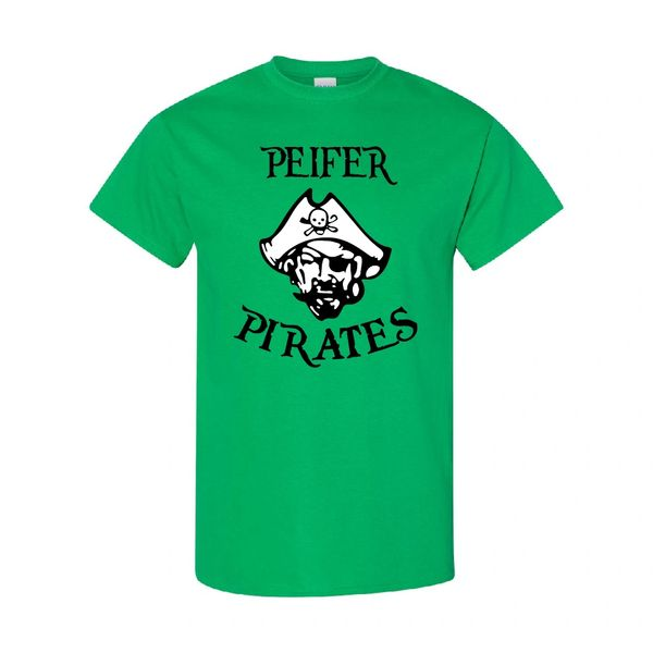 Peifer Pirates Irish Green T-Shirt