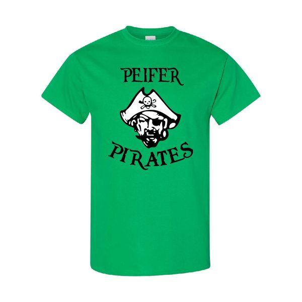 Peifer Pirates Irish Green T-Shirt