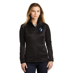 The North Face® Ladies Canyon Flats Stretch Fleece Jacket Embroidered LC Logo