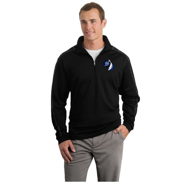 Nike Dri-FIT 1/2-Zip Cover-Up Embroidered LC Logo