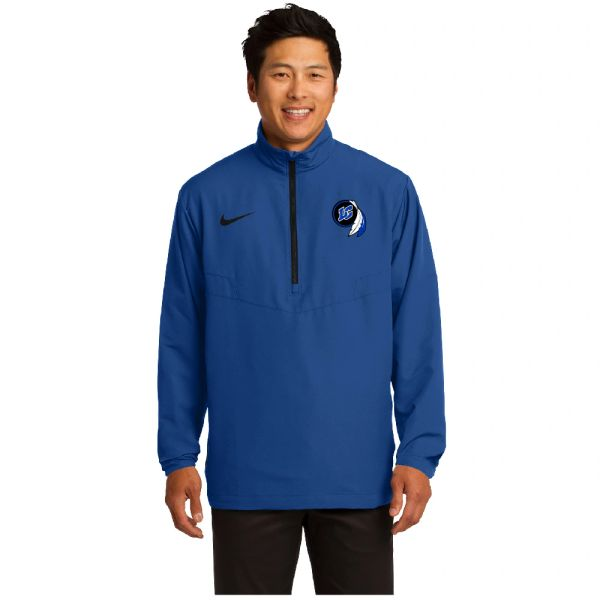 Nike 1/2-Zip Wind Shirt Embroidered LC Logo