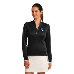 Nike Ladies Dri-FIT 1/2-Zip Cover-Up Embroidered LC Logo