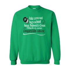 Lake Central 2020 St.Baldrick's Crewneck Sweatshirt