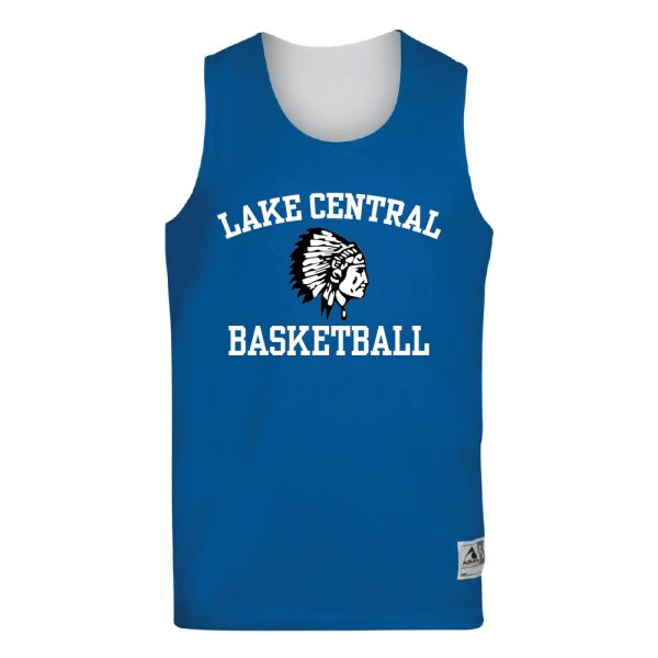 Lake Central Basketball Reversible Wicking Tank