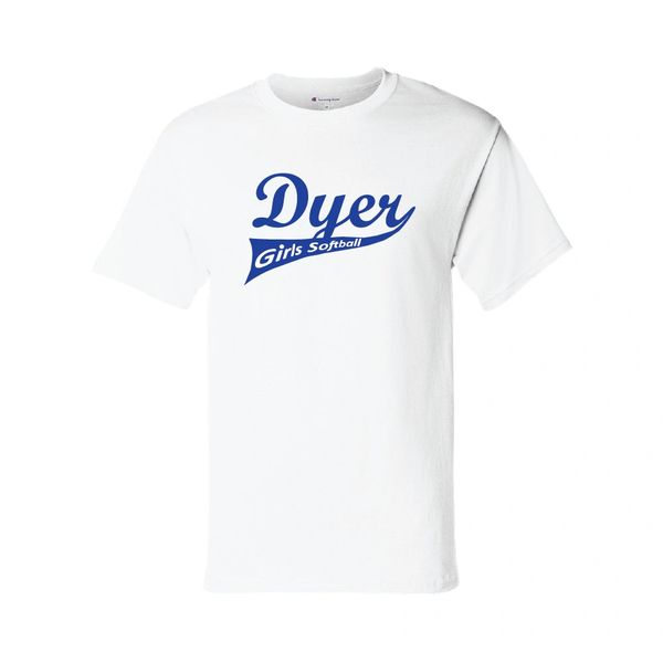 Dyer Girls Softball Champion Short Sleeve T-Shirt