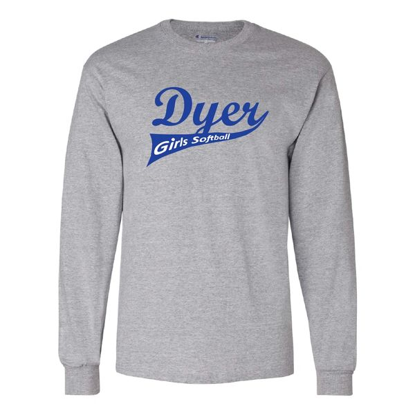 Dyer Girls Softball Champion Long Sleeve T-Shirt