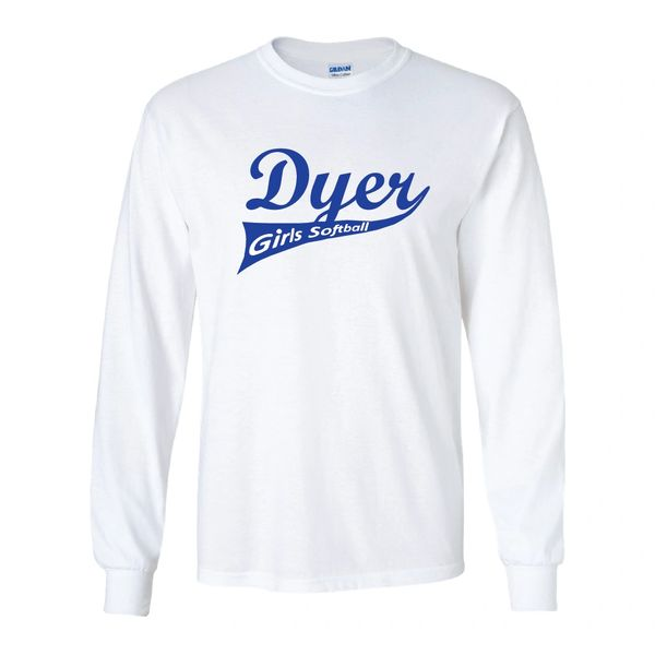Dyer Girls Softball Long Sleeves
