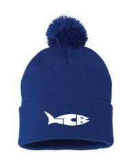 LC Barracudas Embroidered Pom-Pom Hat