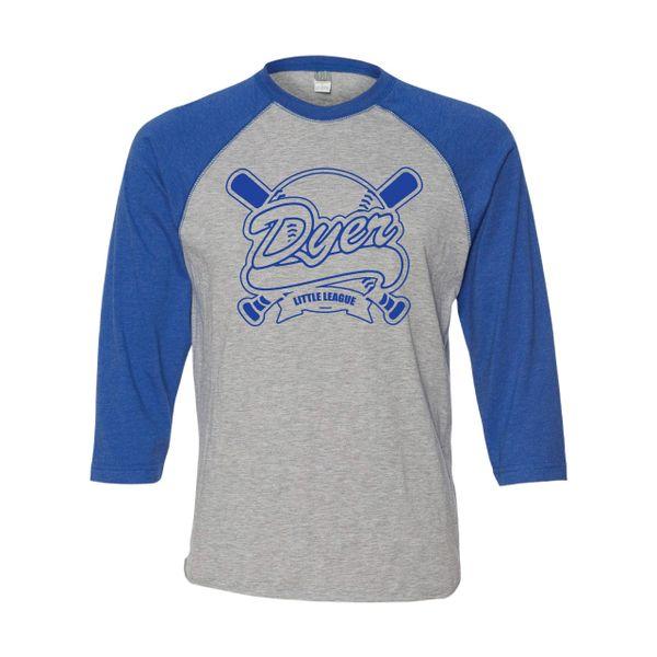 DLL Baseball Jersey Tee