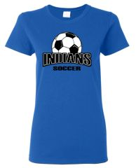 Indians Soccer Women's T-Shirt
