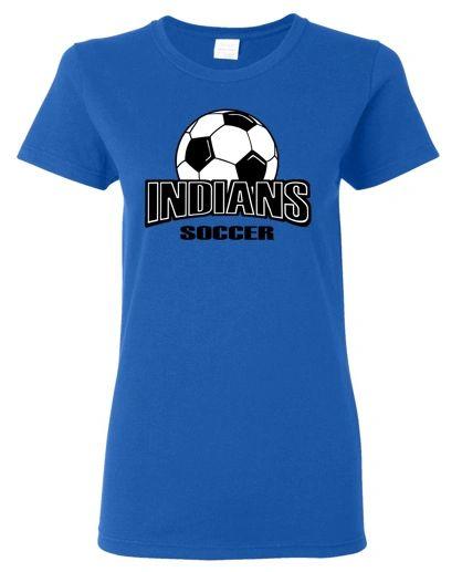 Indians Soccer Women's T-Shirt
