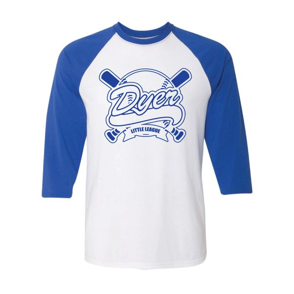 DLL Three Quarter Raglan T-shirt