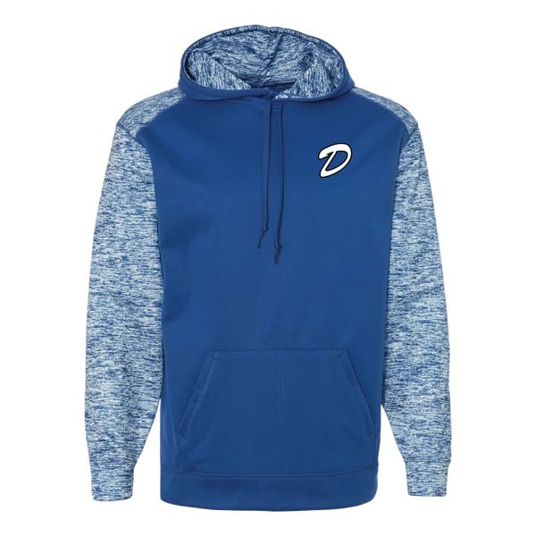DLL Sport Blend Performance Hooded Sweatshirt