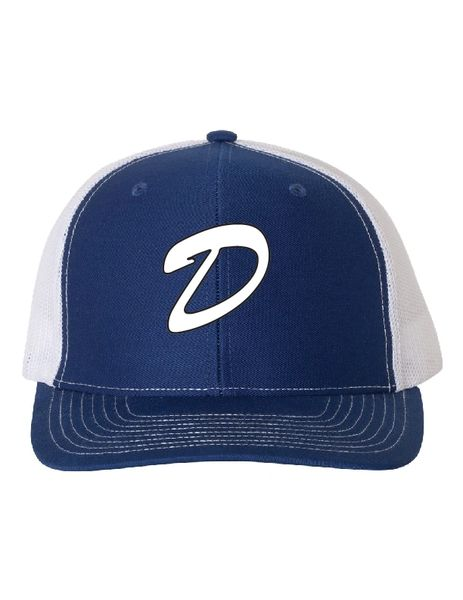 DLL Embroidered Snap Back Trucker Hat
