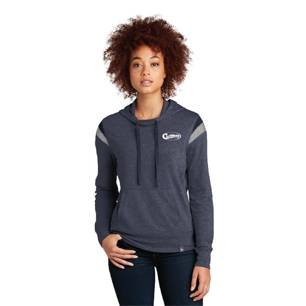 Caribbean Pools New Era ® Ladies Heritage Blend Varsity Hoodie