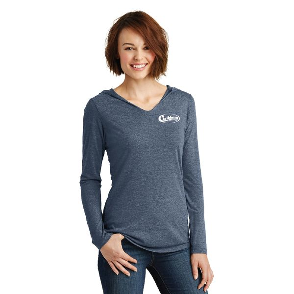 Caribbean Pools Women's Perfect Tri ® Long Sleeve Hoodie