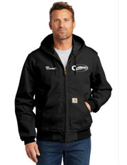 Caribbean Pools Embroidered Thermal-Lined Duck Active Jacket