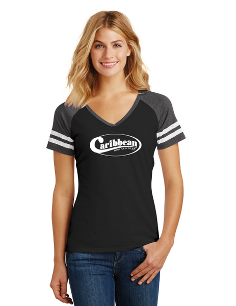 Caribbean Pools Women's Game V-Neck