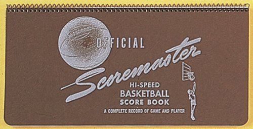Official Scoremaster Hi-Speed Basketball Score Book