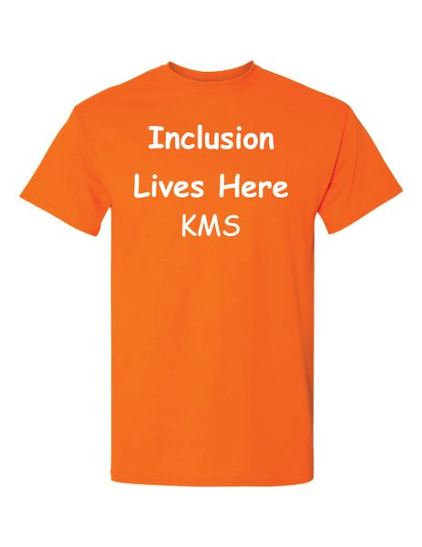 Inclusion Lives Here T-Shirt
