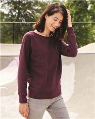 Independent Trading Co. - Juniors' Heavenly Fleece Lightweight Sweatshirt